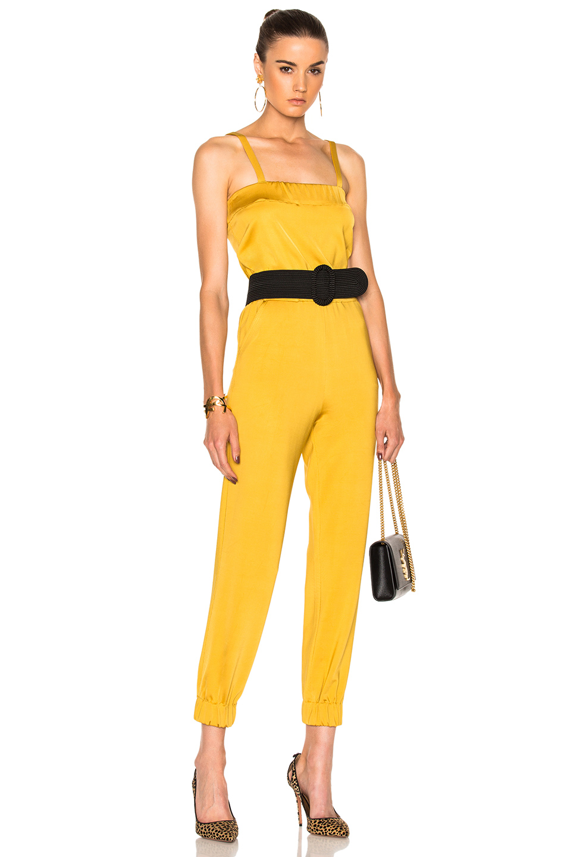Carolina Ritzler Blondie Jumpsuit in Yellow
