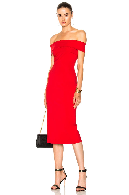 Cushnie et Ochs Pencil Dress in Red