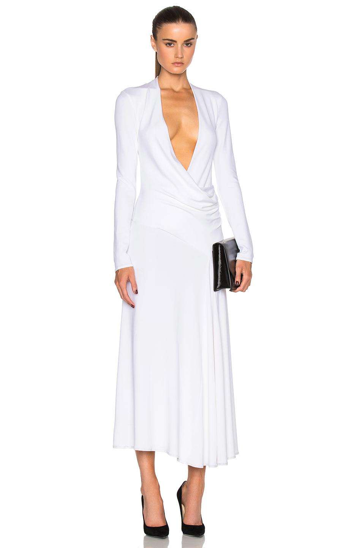Cushnie et Ochs Grace Dress in White