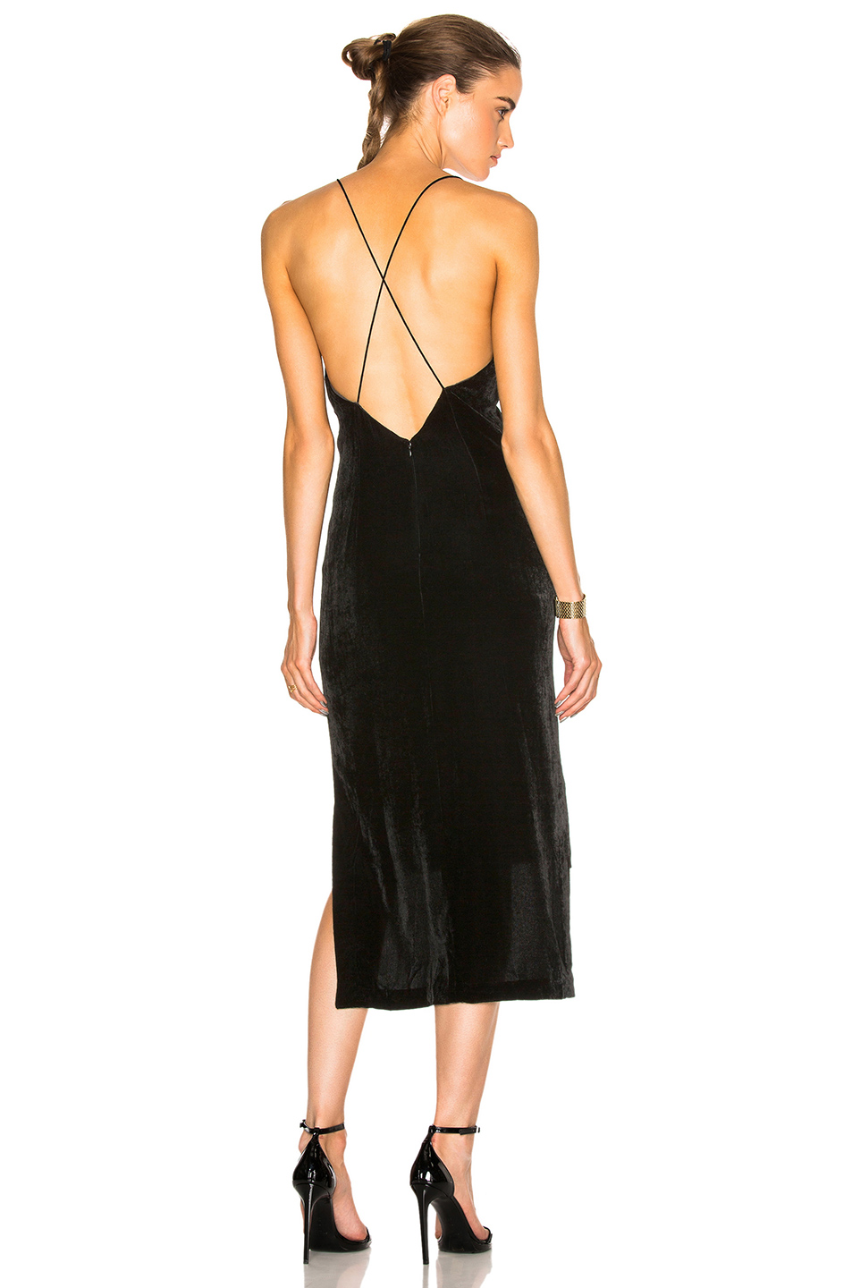 Dion Lee Cami Dress in Black