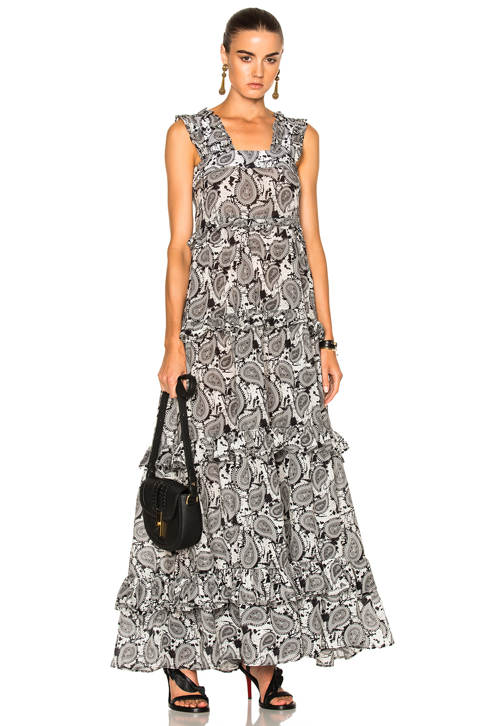 Dodo Bar Or Kat Dress in Abstract,Black,White