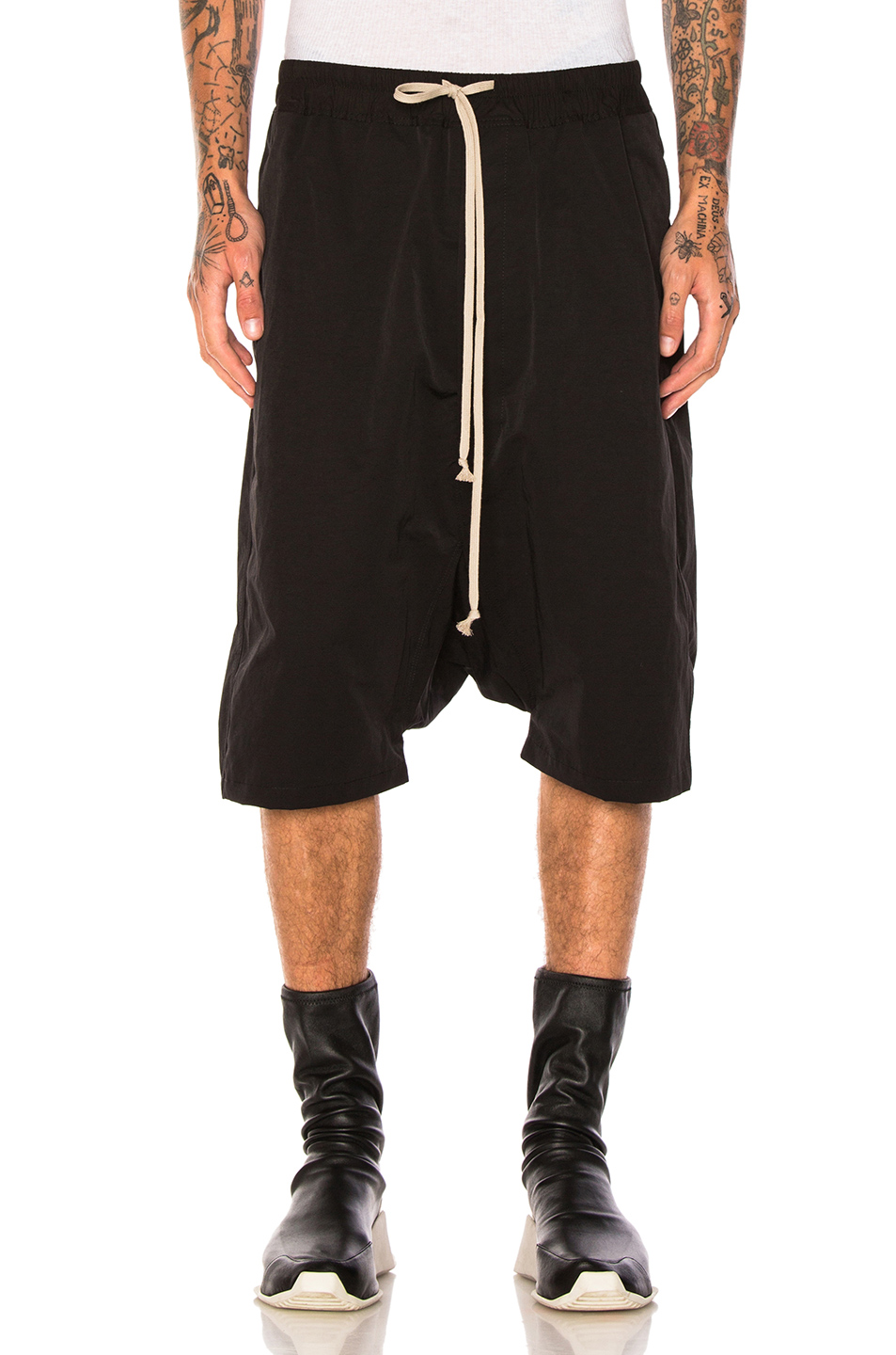 DRKSHDW by Rick Owens Shorts in Black