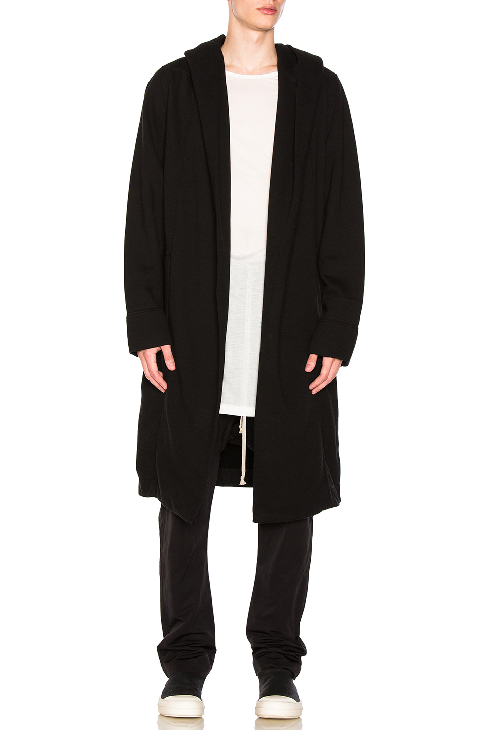 DRKSHDW by Rick Owens Spa Robe in Black