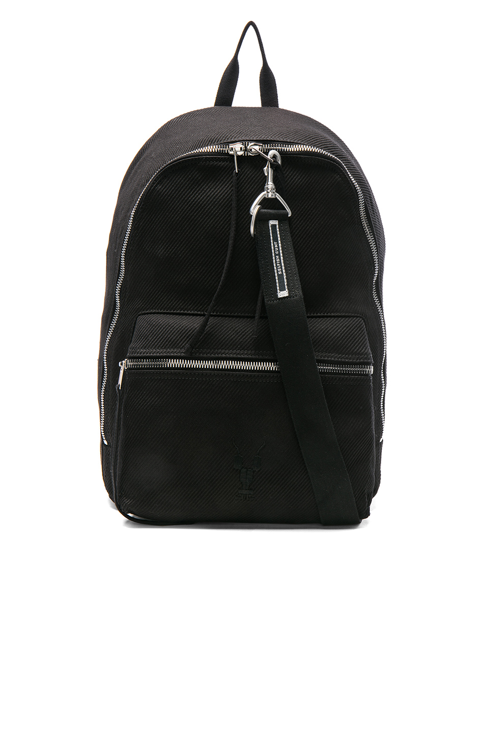 DRKSHDW by Rick Owens Zaino Backpack in Black