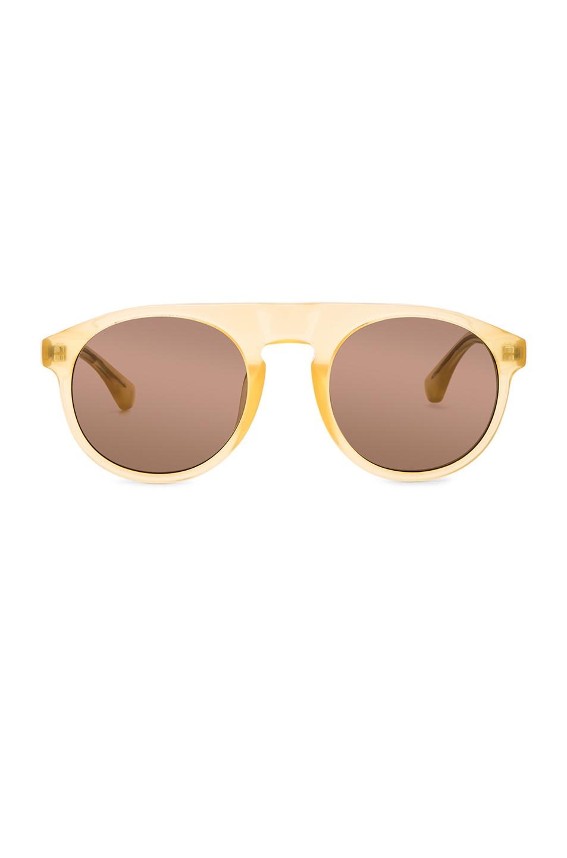 Dries Van Noten Sunglasses in Yellow