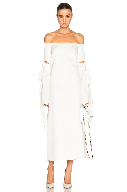 Ellery Claude Dress in White