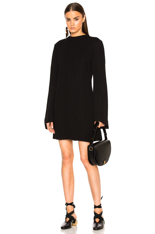Ellery Duckie Dress in Black