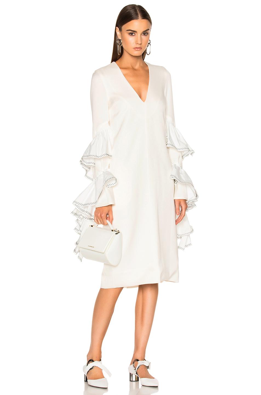 Ellery Molotov Dress in White