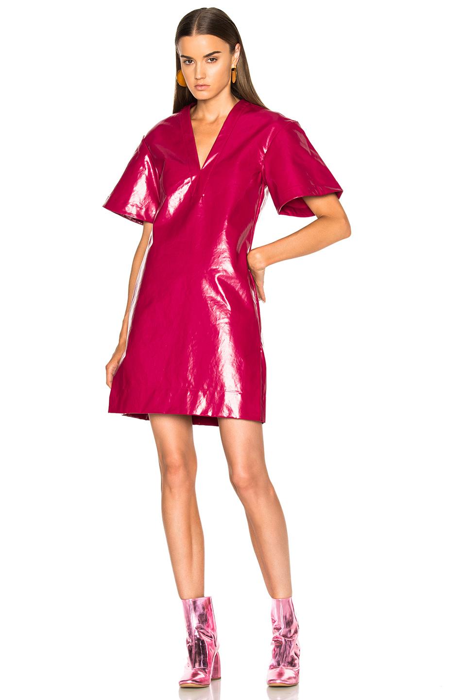 Ellery Clockwork Dress in Pink