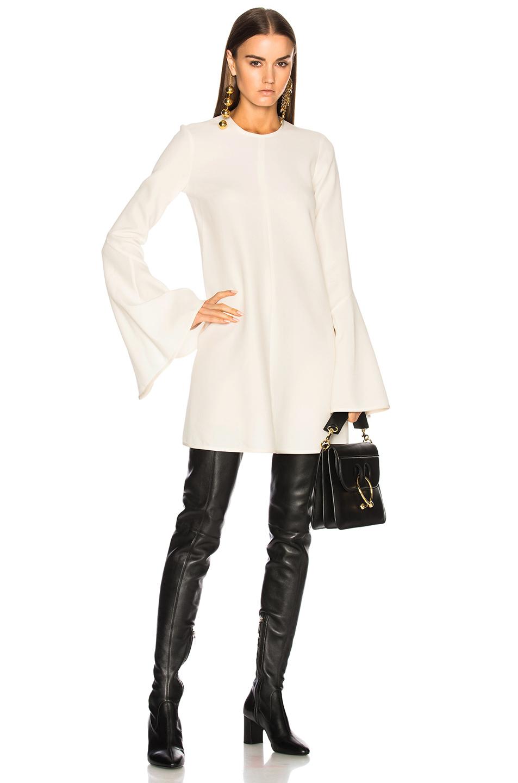 Ellery Preacher Dress in White