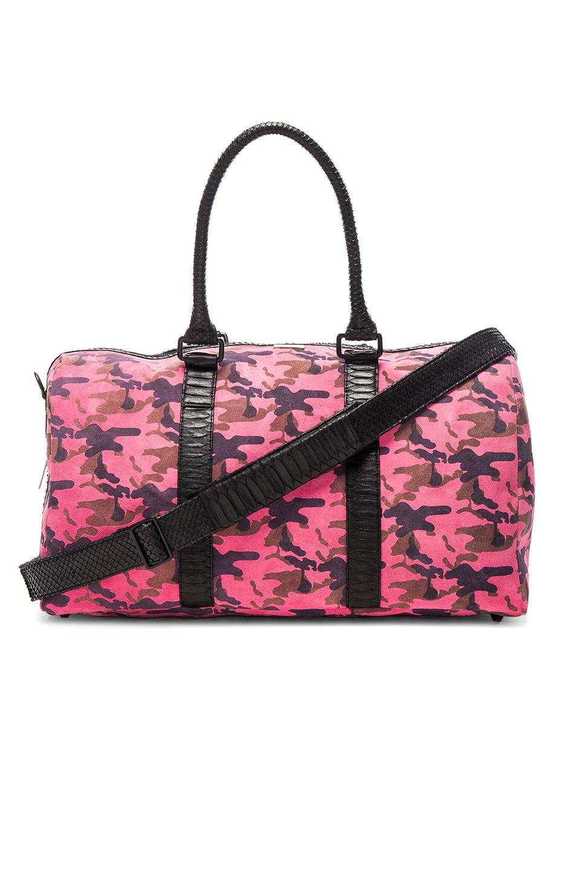 Elisabeth Weinstock Sardinia Duffle Bag in Pink
