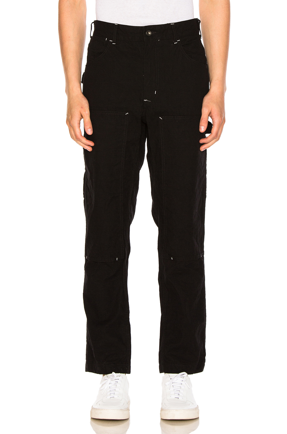 Engineered Garments Painter Pants in Black