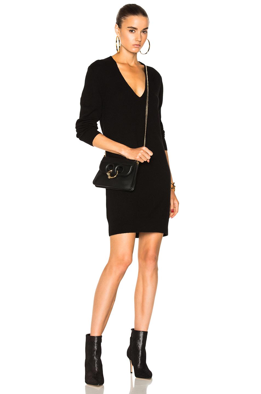 Equipment Rosemary Sweater Dress in Black