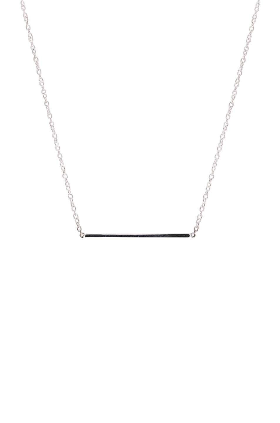 ERTH Bar Necklace in Metallics