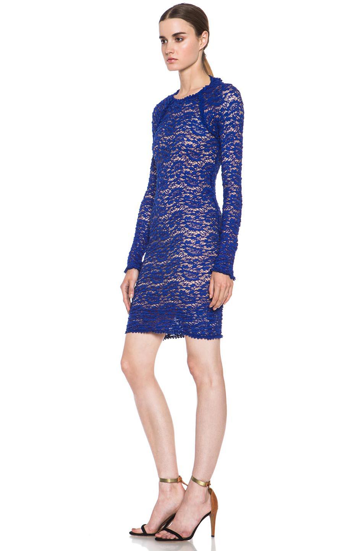 Isabel Marant Etoile|Yucca Knit Dress in Blue [2]