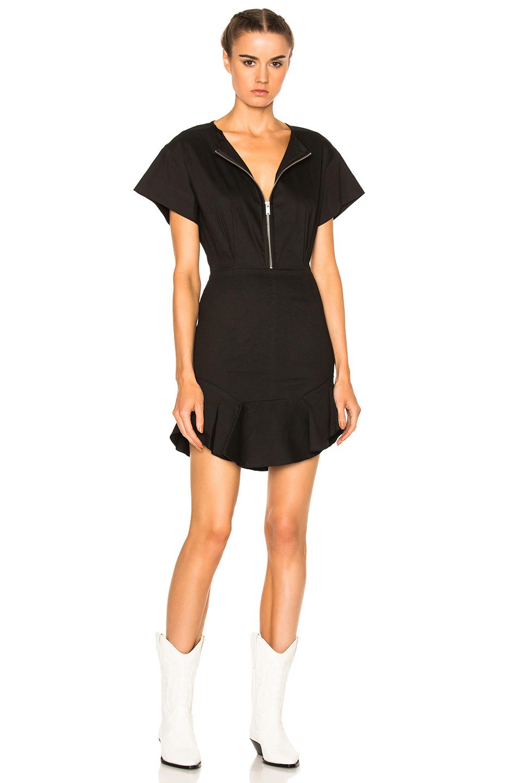Isabel Marant Etoile Neit New Flou Dress in Black