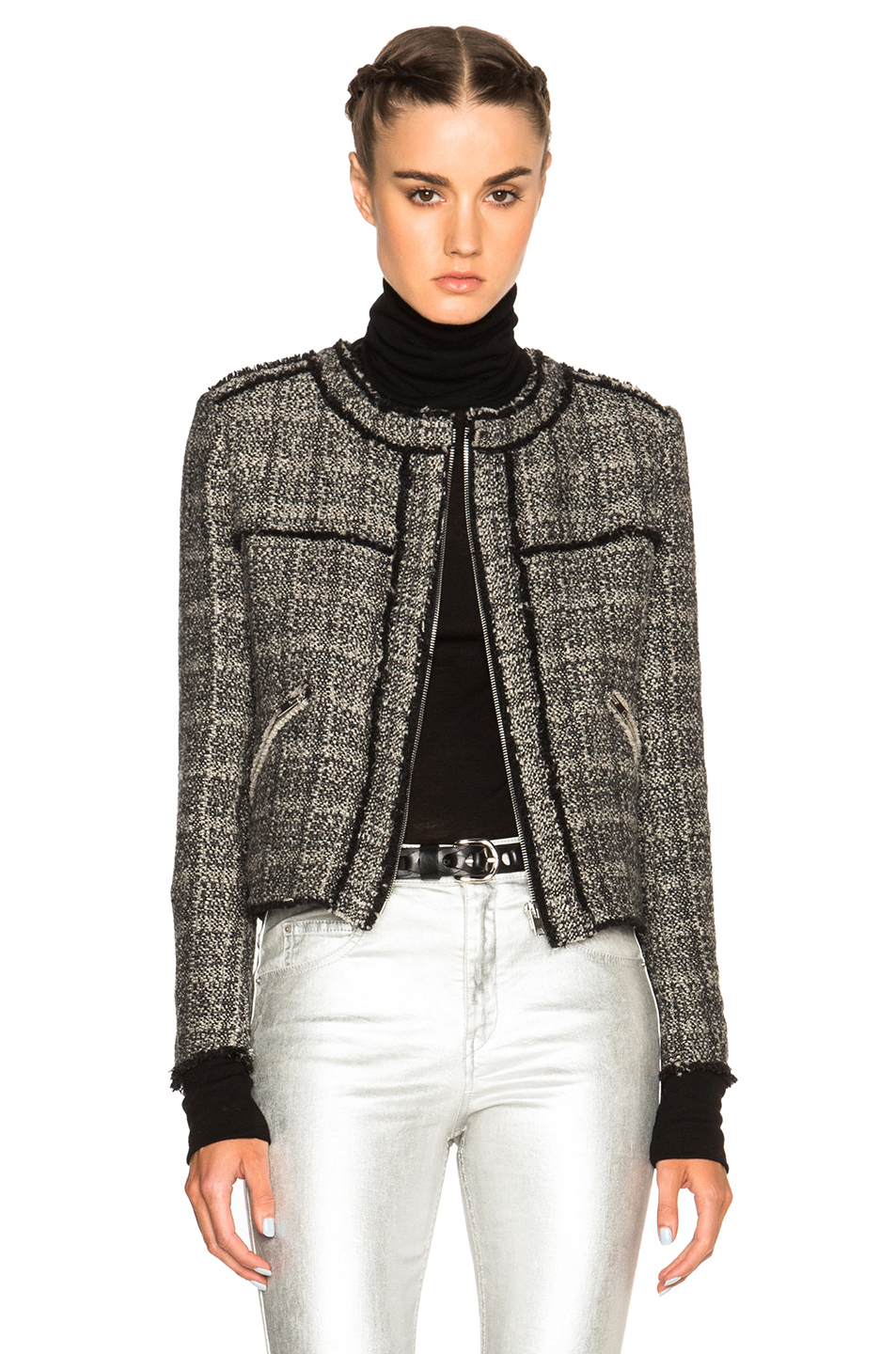 Isabel Marant Etoile Laura Cowens Jacket in Black