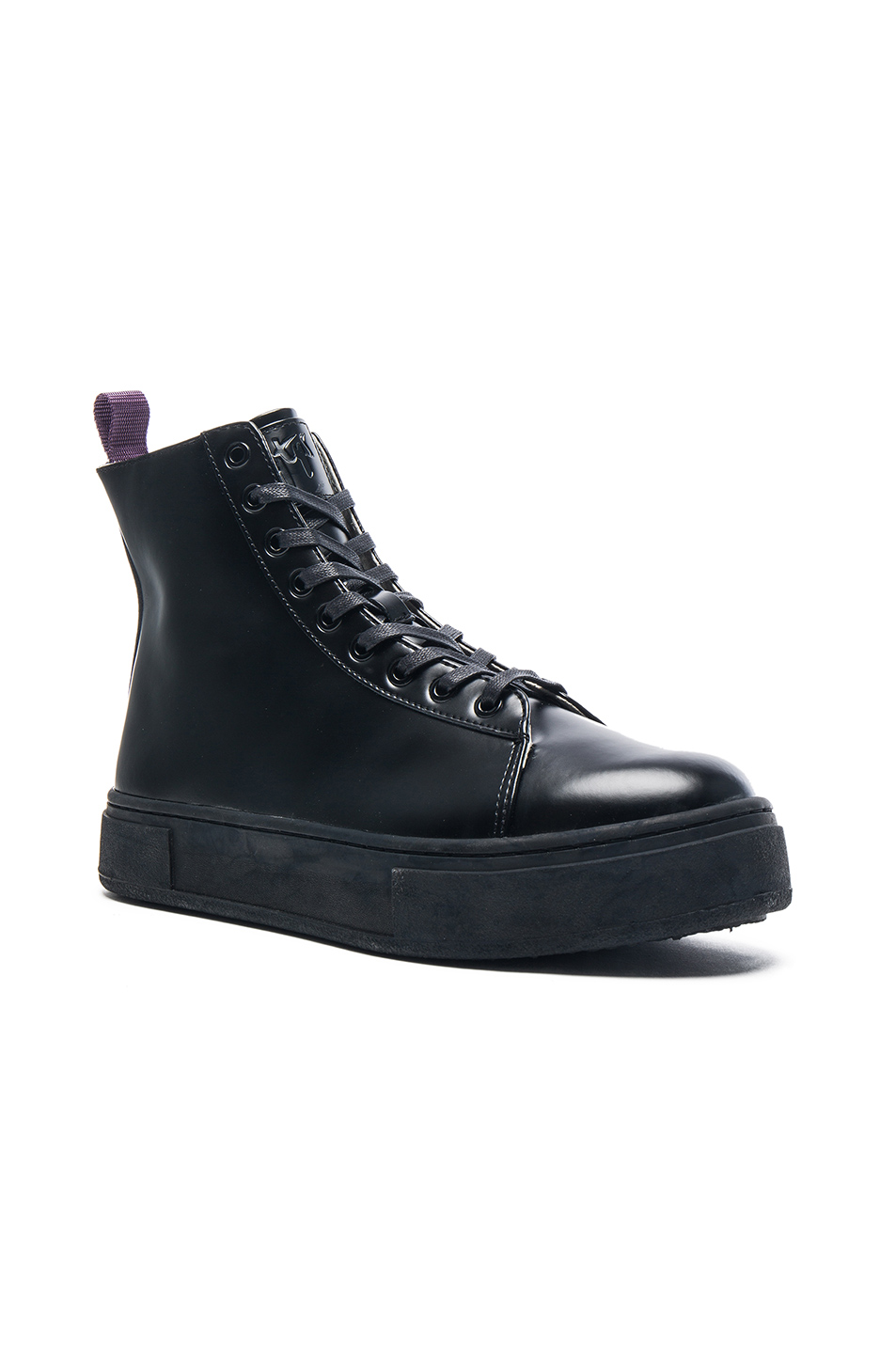 Eytys Kibo Leather Boots in Black