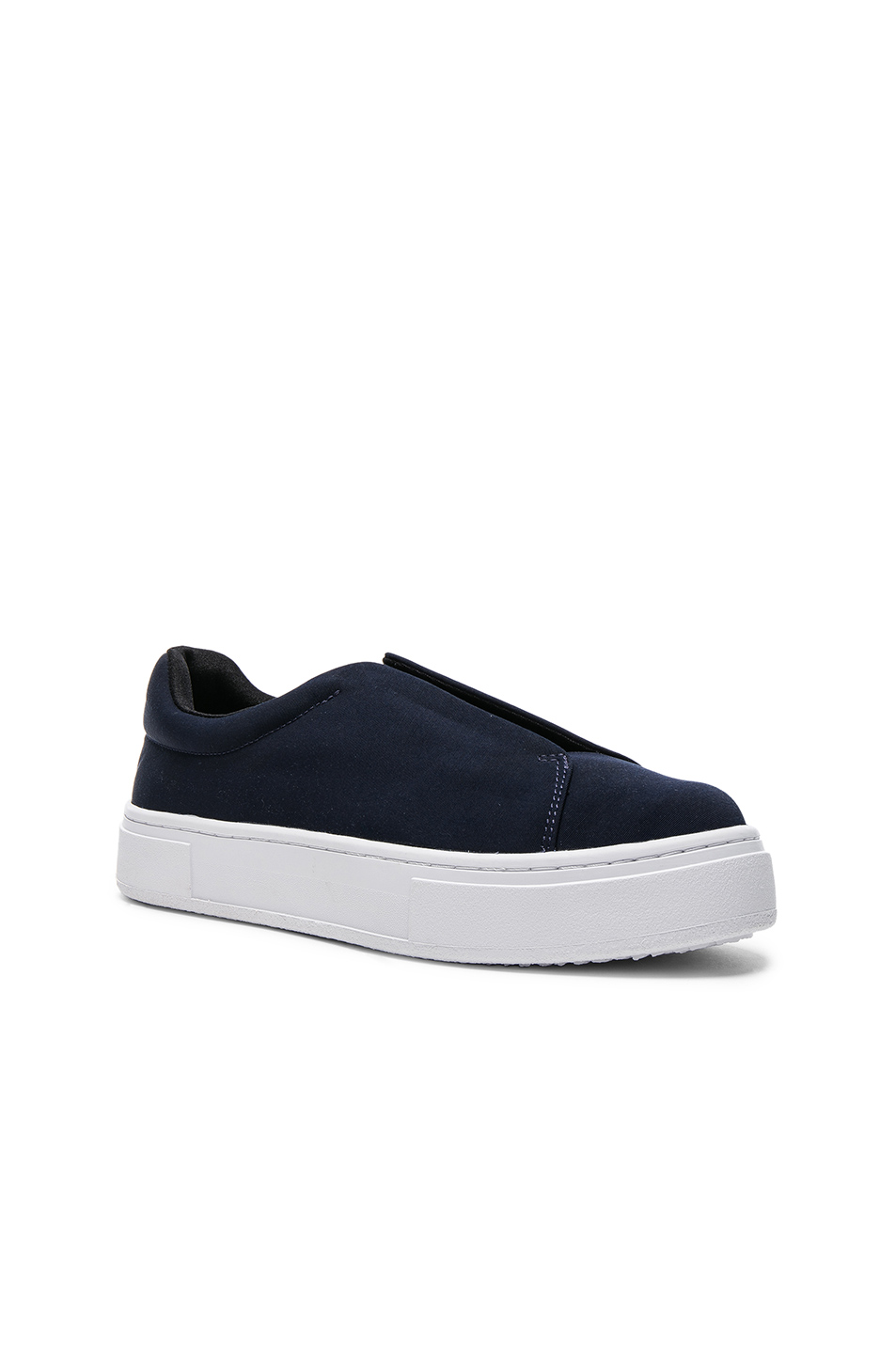 Eytys Grosgrain Doja Sneakers in Blue