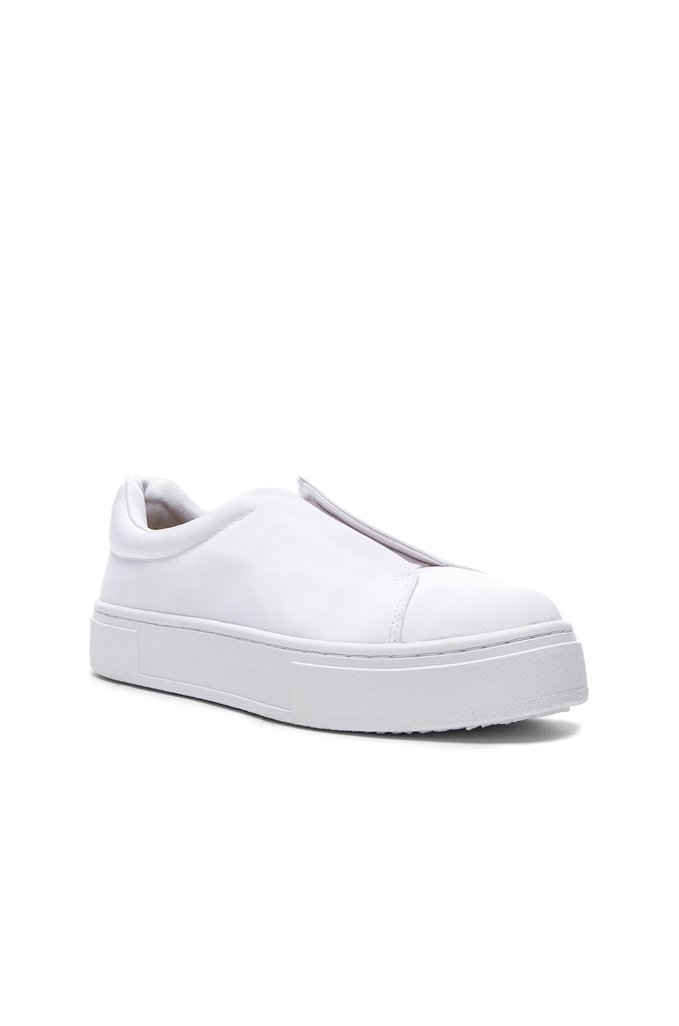 Eytys Grosgrain Doja Sneakers in White