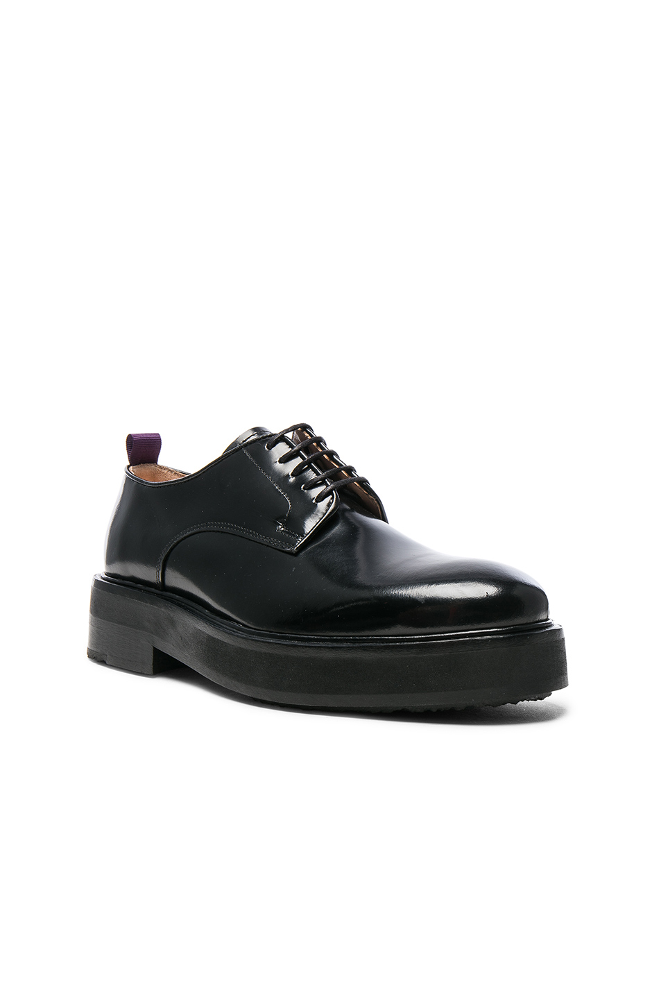 Eytys Leather Kingston Dress Shoes in Black