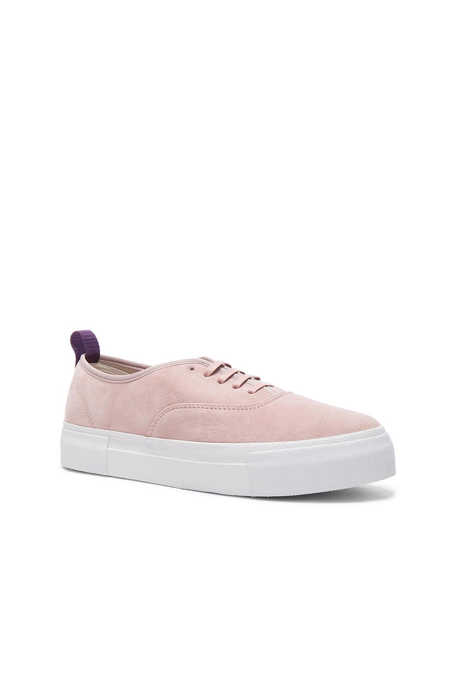Eytys Suede Mother Sneakers in Pink