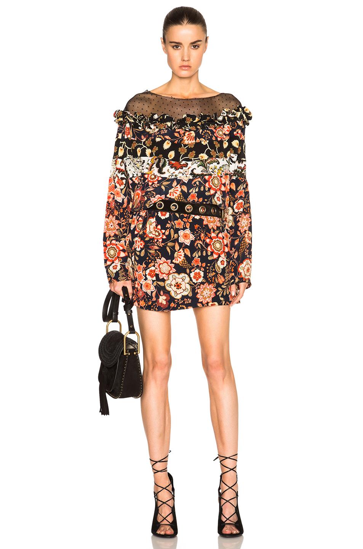 Faith Connexion Bat Print Dress in Floral