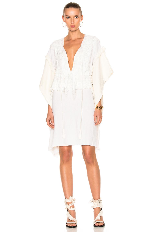 Faith Connexion Lace Dress in Neutrals,White