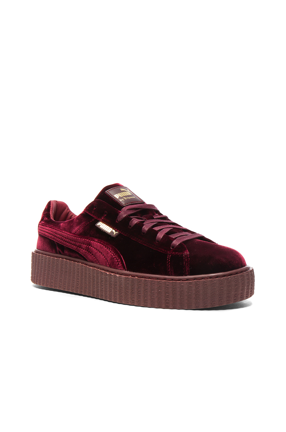 Fenty by Puma Creepers Velvet in Red