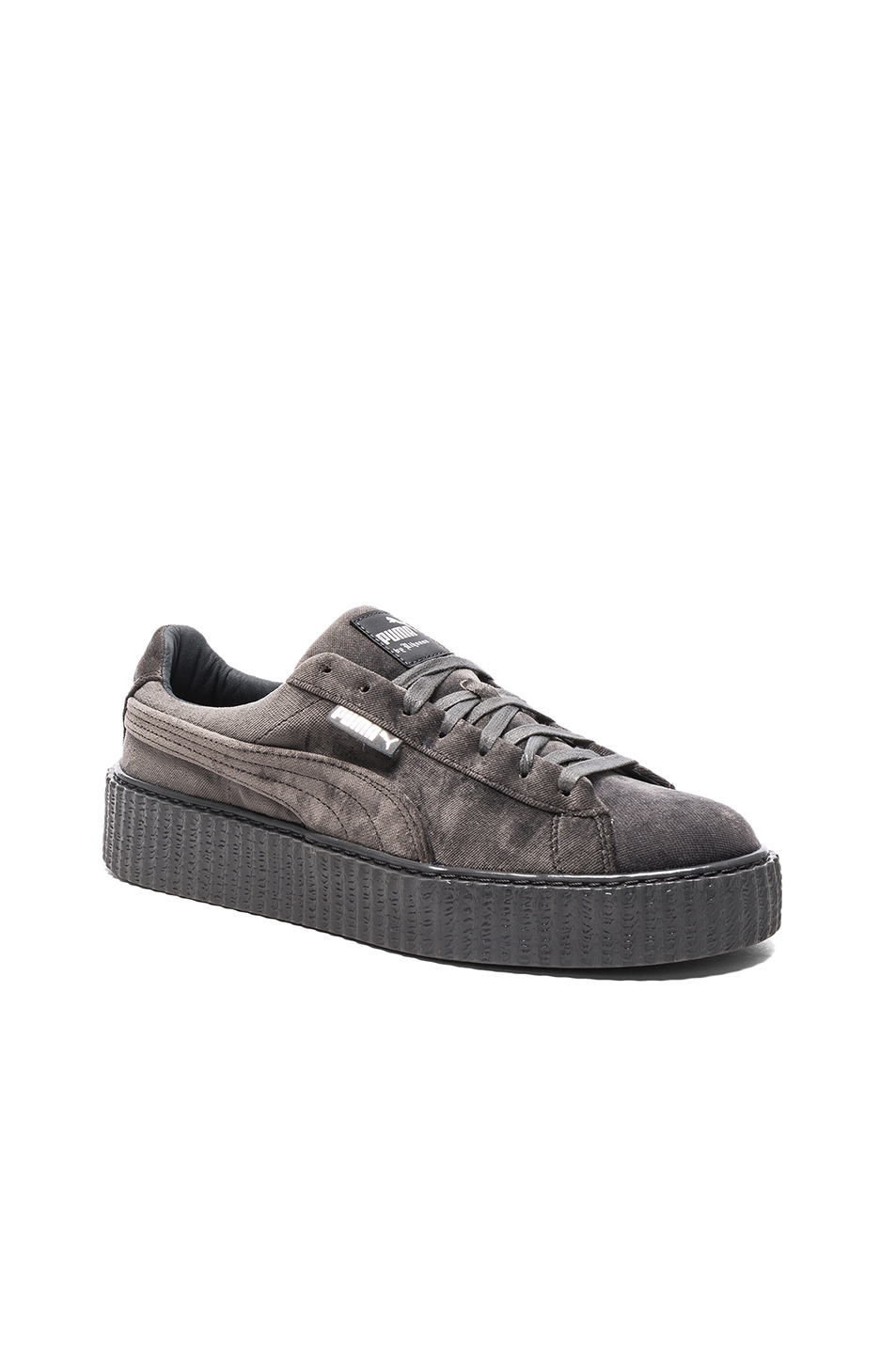 Fenty by Puma Creepers Velvet in Gray