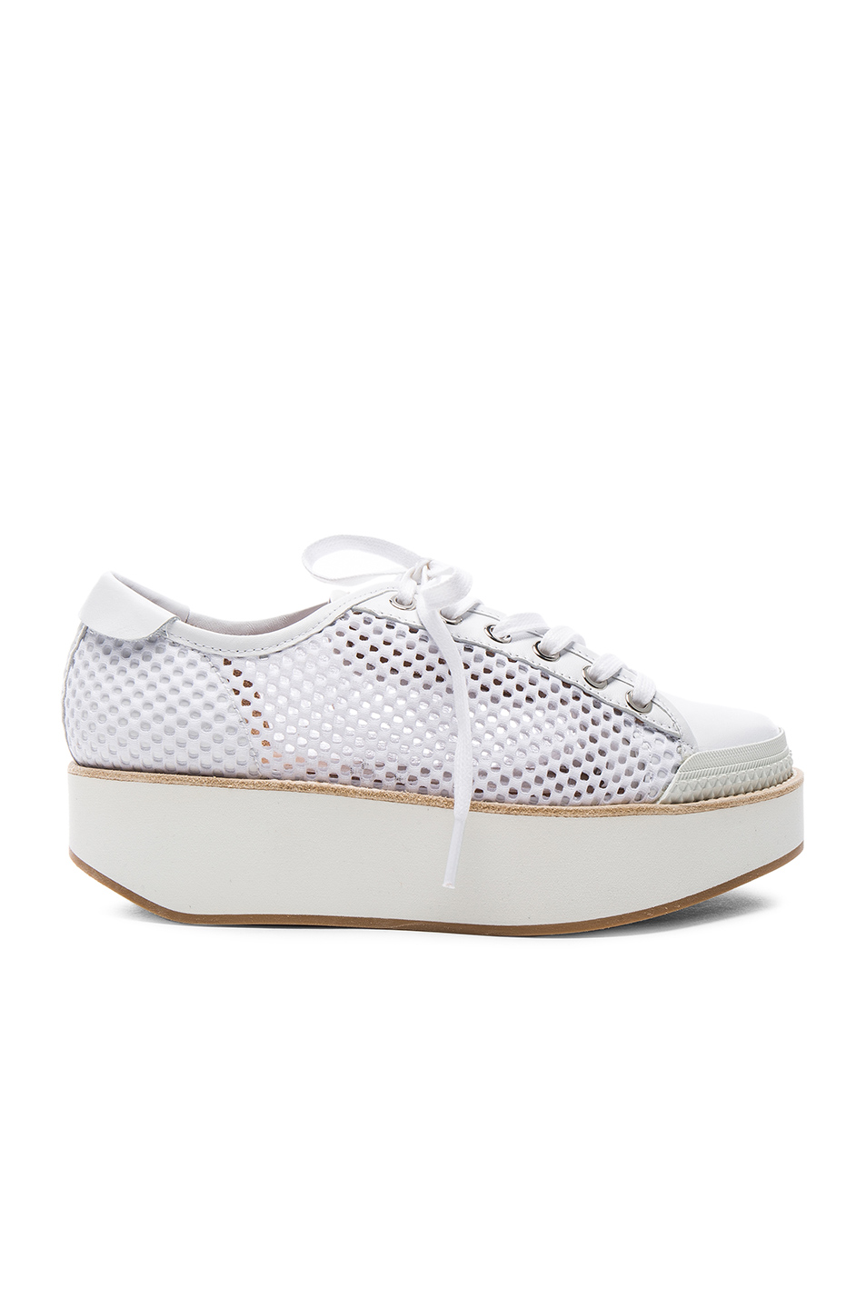Flamingos Mesh Tatum Sneakers in White
