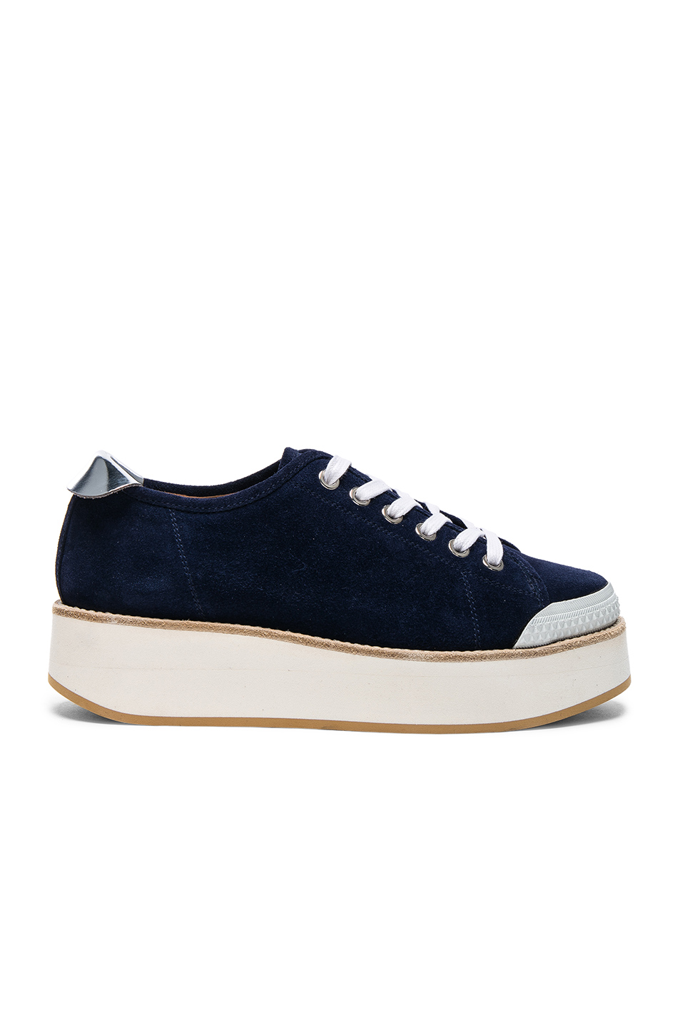 Flamingos Suede Tatum Sneakers in Blue