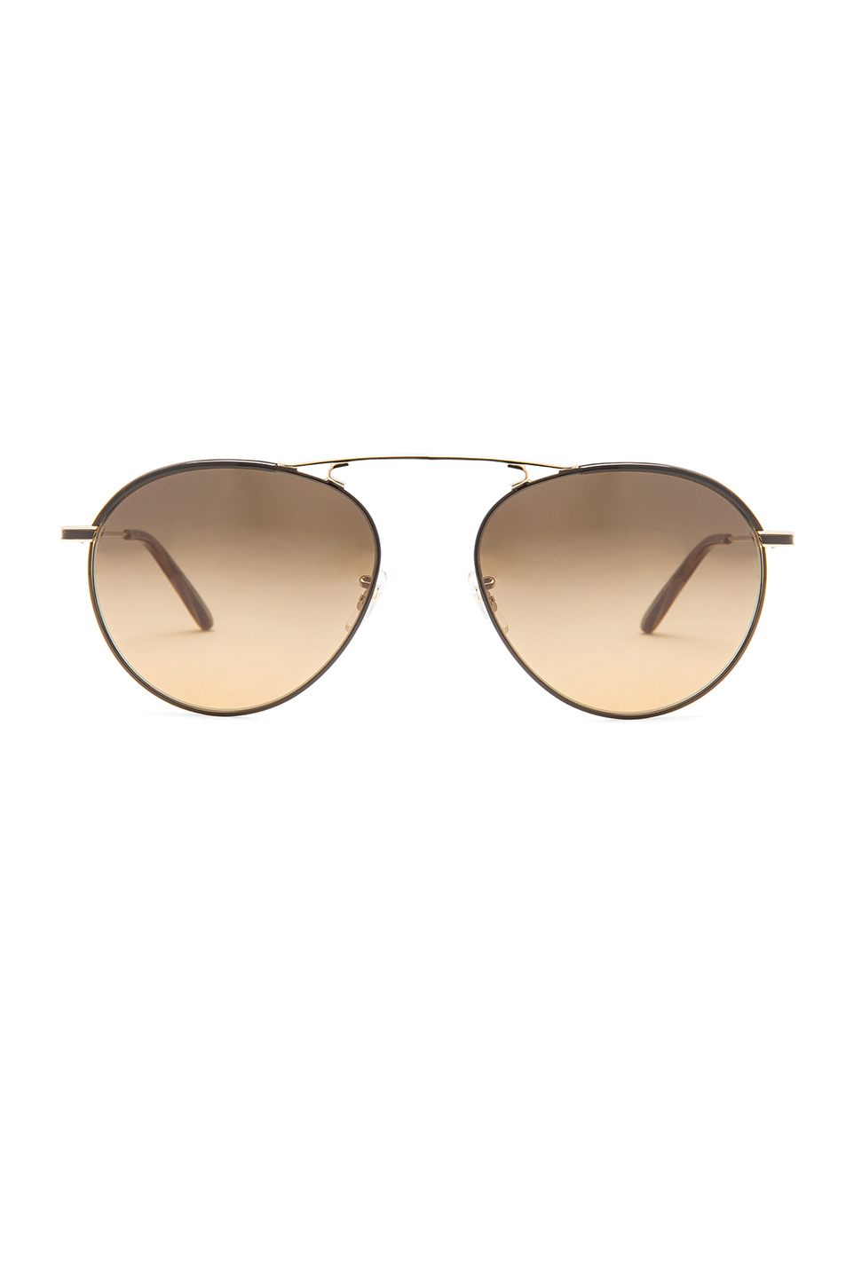 Garrett Leight Innes Sunglasses in Metallics