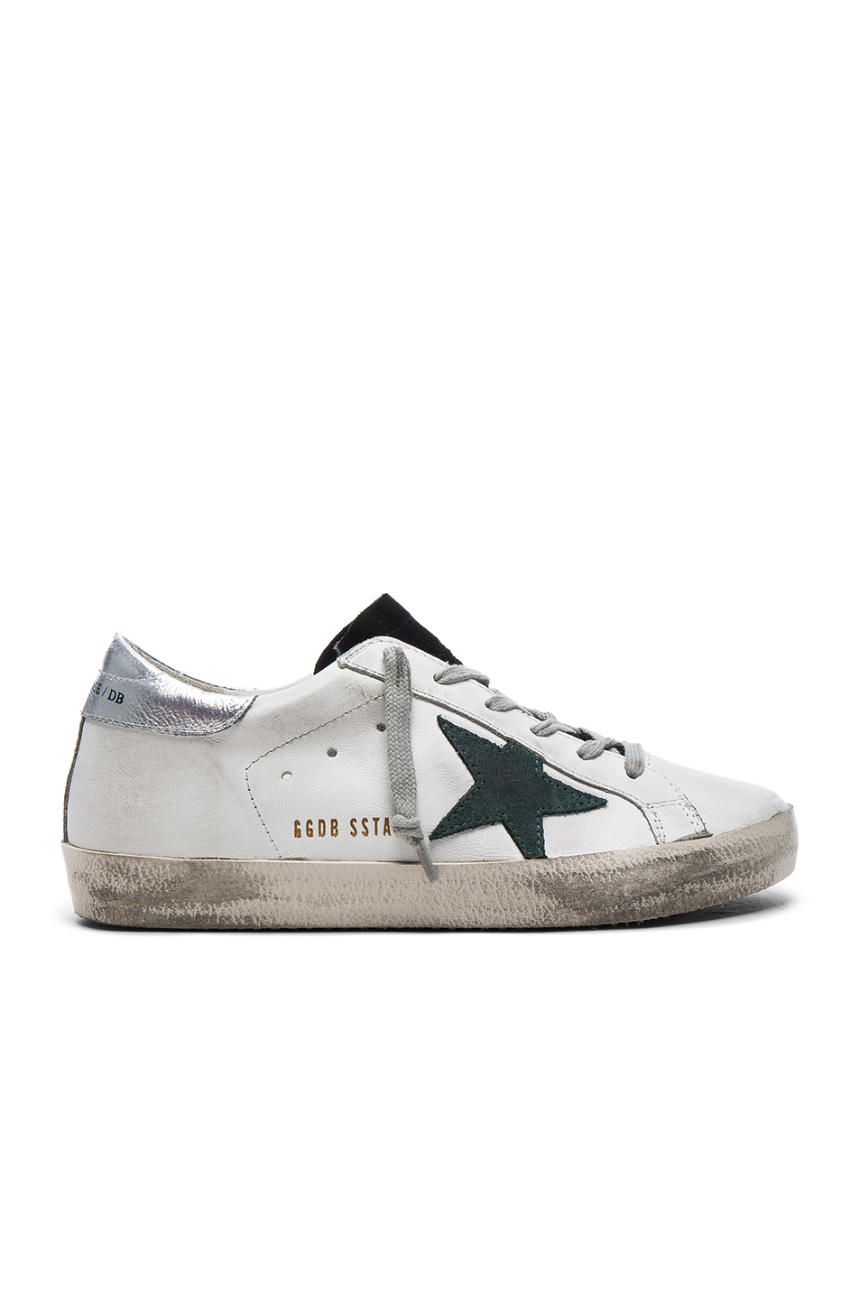 Golden Goose Leather Superstar Low Sneakers in White