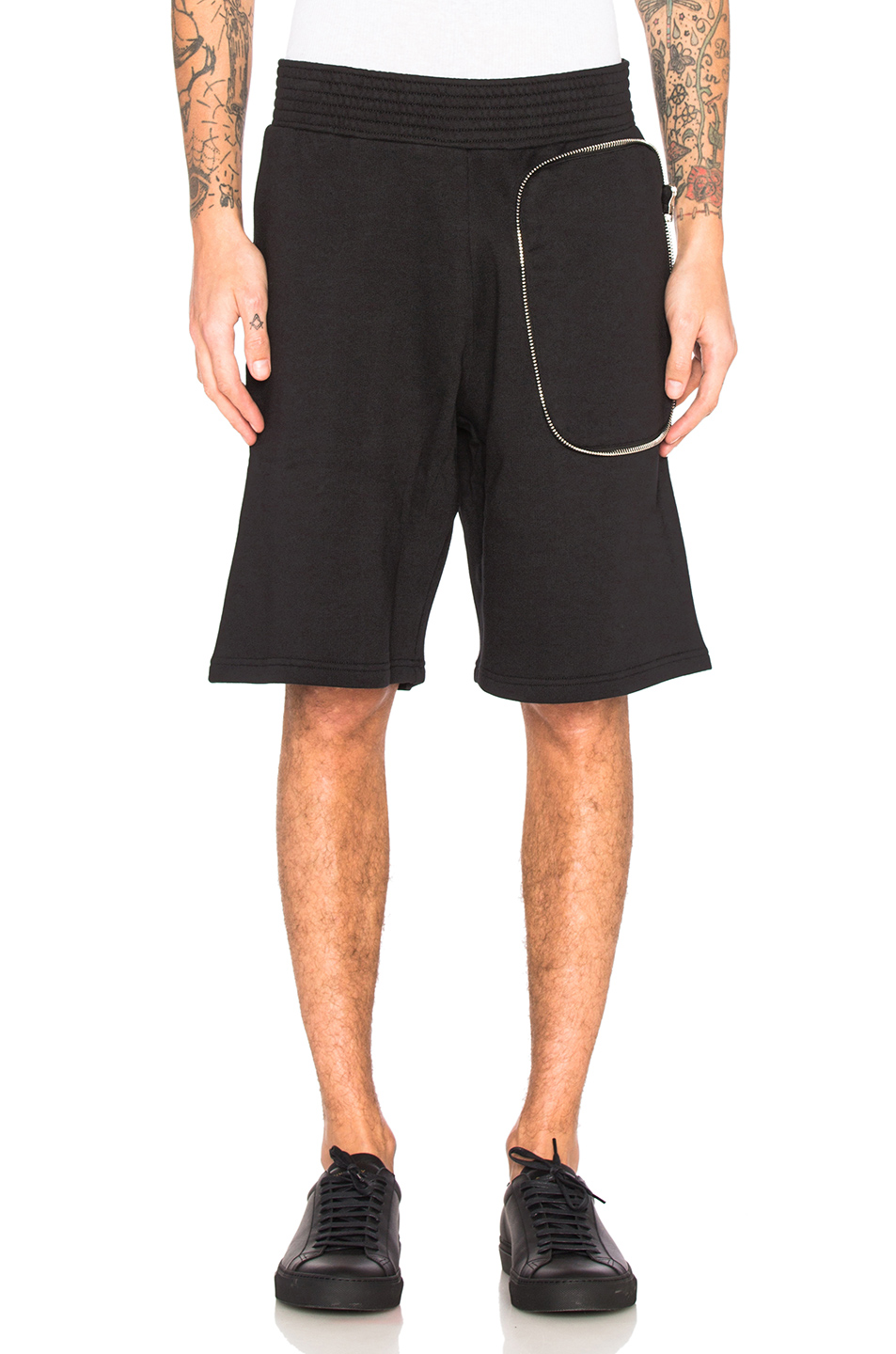 Givenchy Zip Pocket Shorts in Black