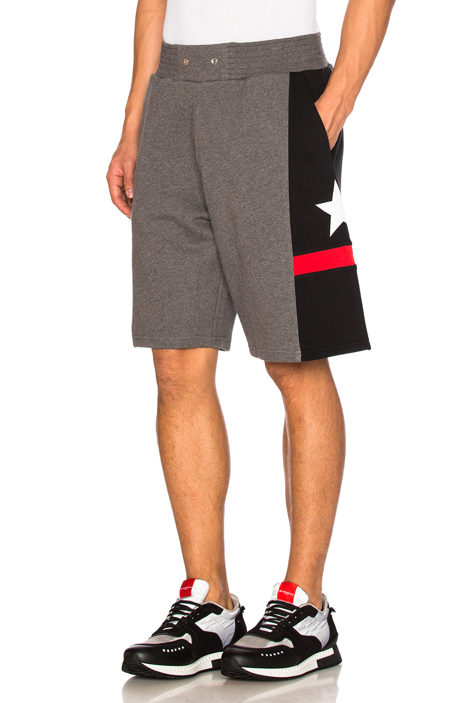 Givenchy Bermuda Shorts in Gray