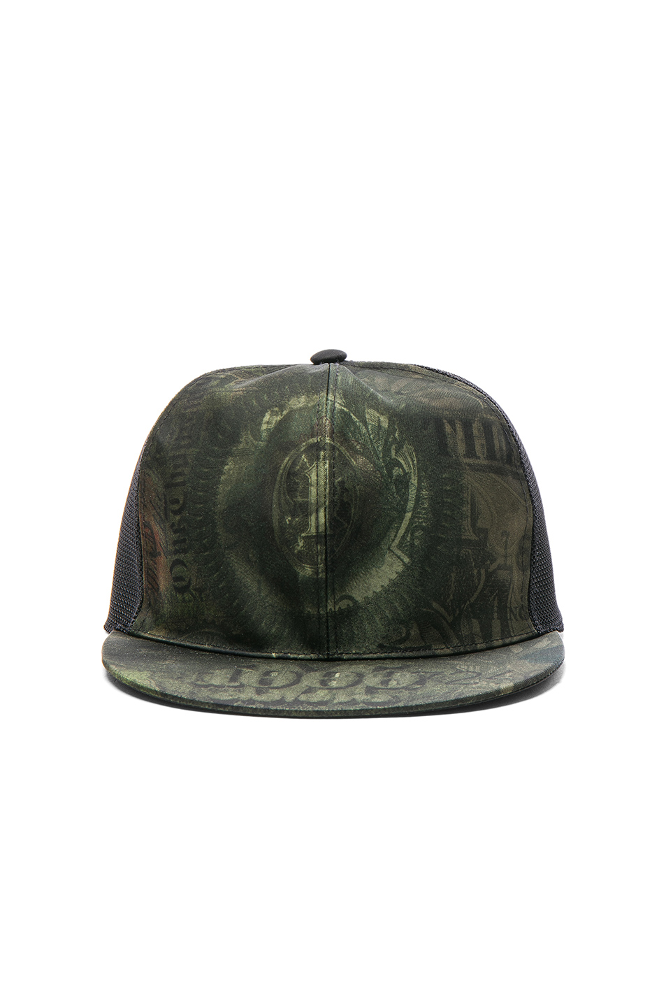 Givenchy Cap in Green,Abstract