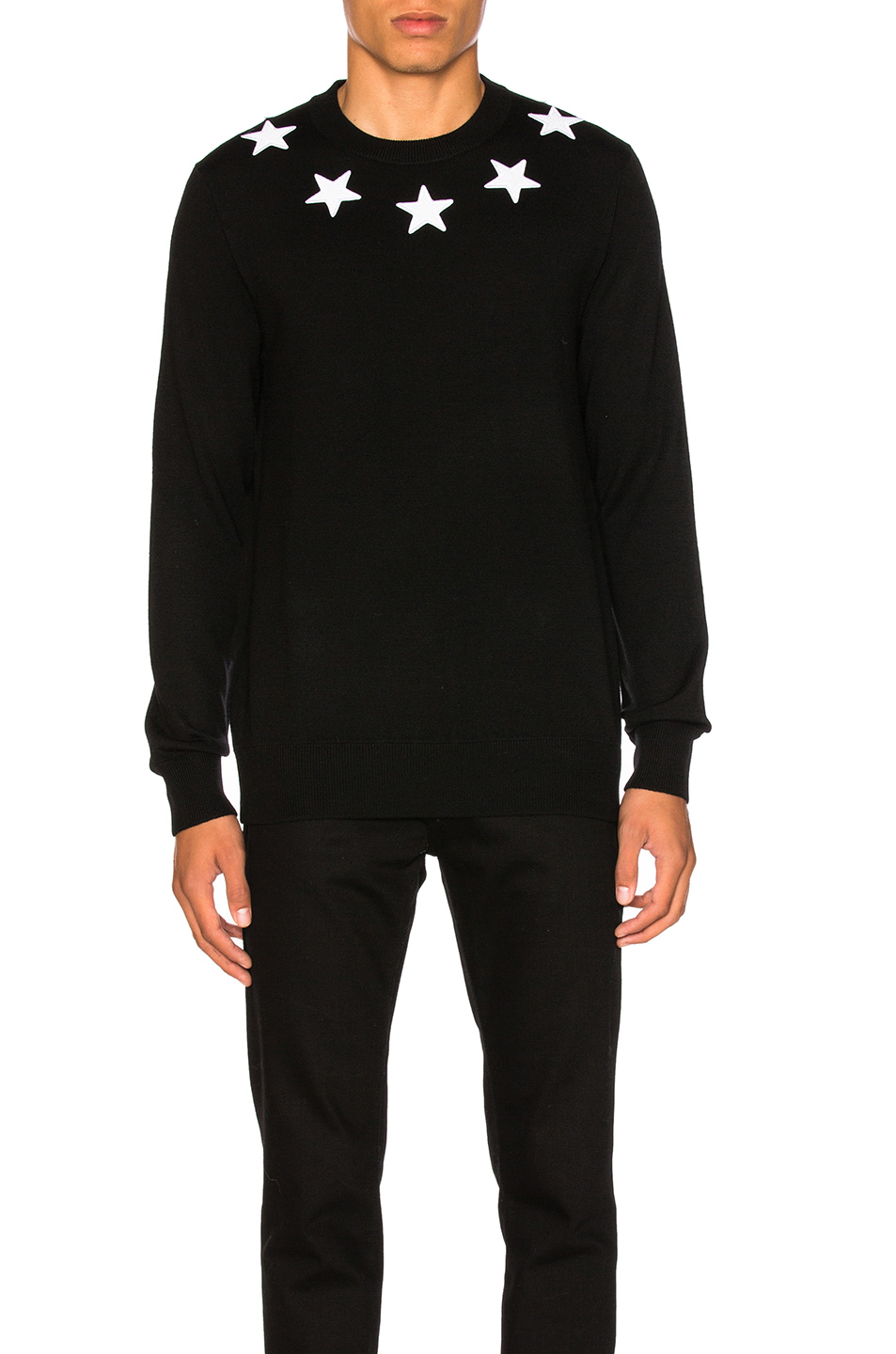 Givenchy Wool Pullover in Black