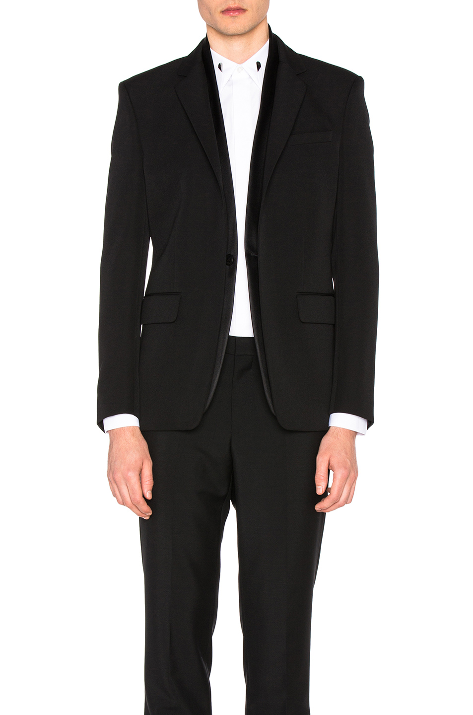 Givenchy Virgin Wool Blazer in Black