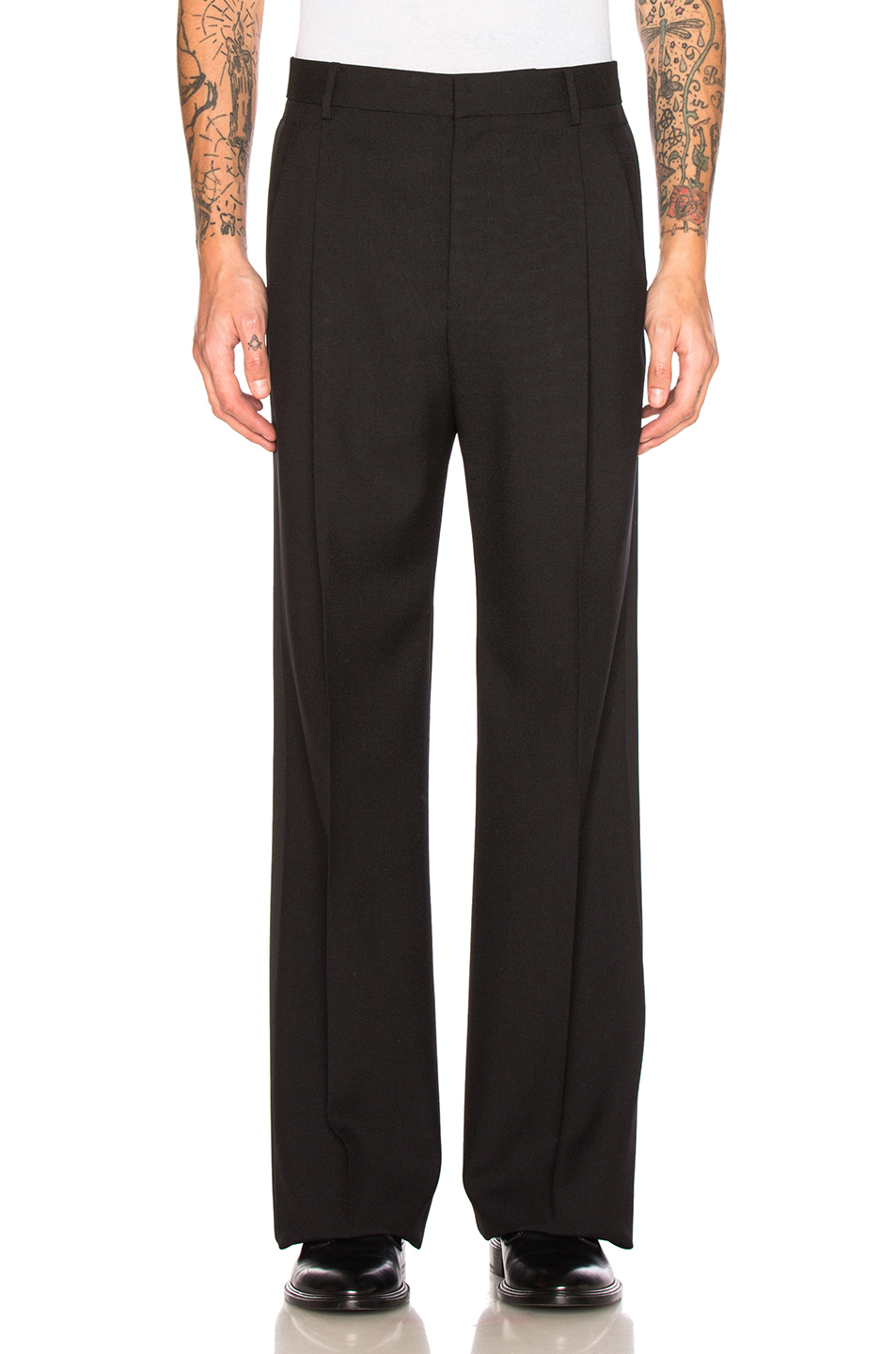 Givenchy Wide Leg Trousers in Black