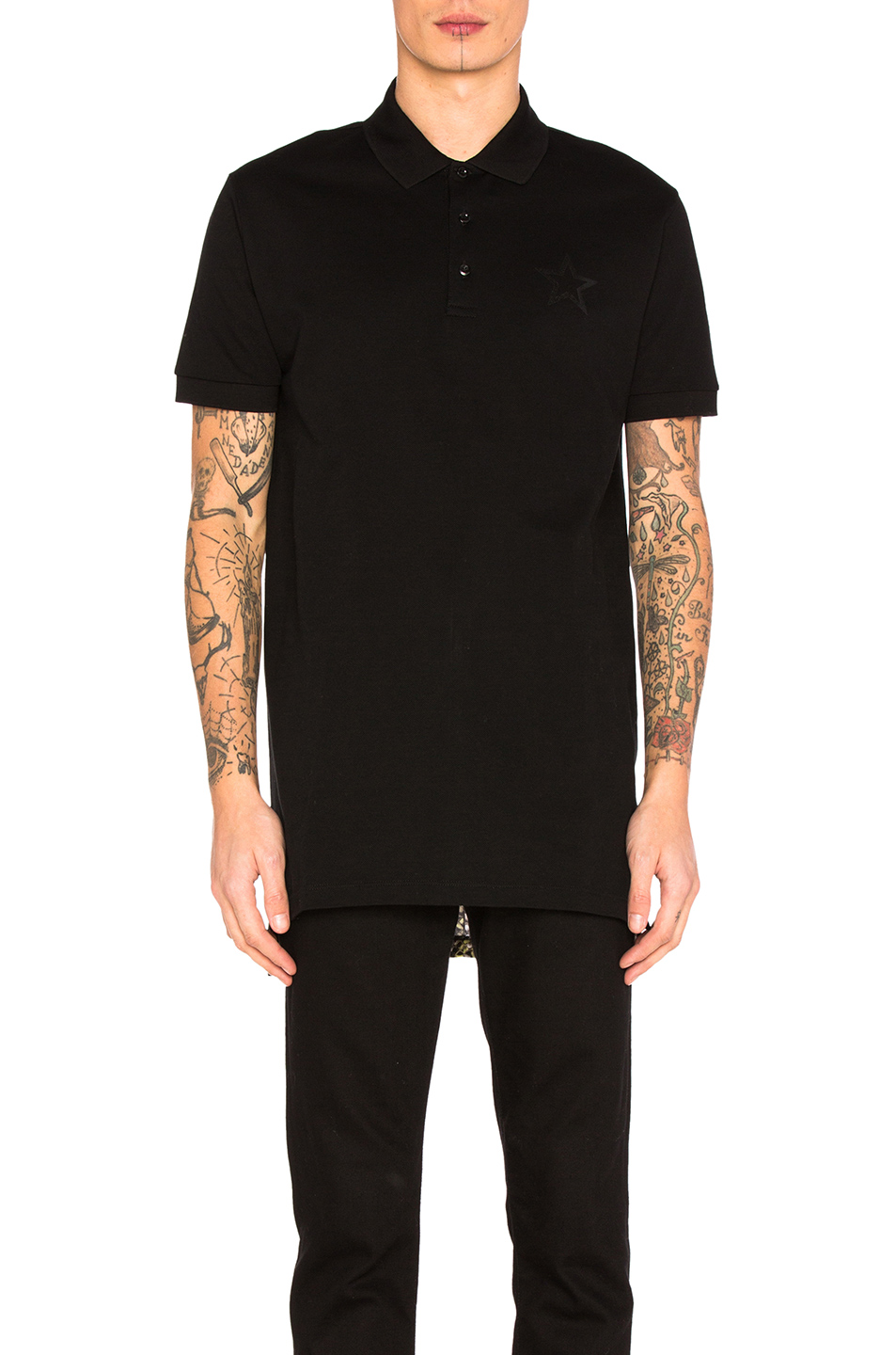 Givenchy Polo Shirt in Black