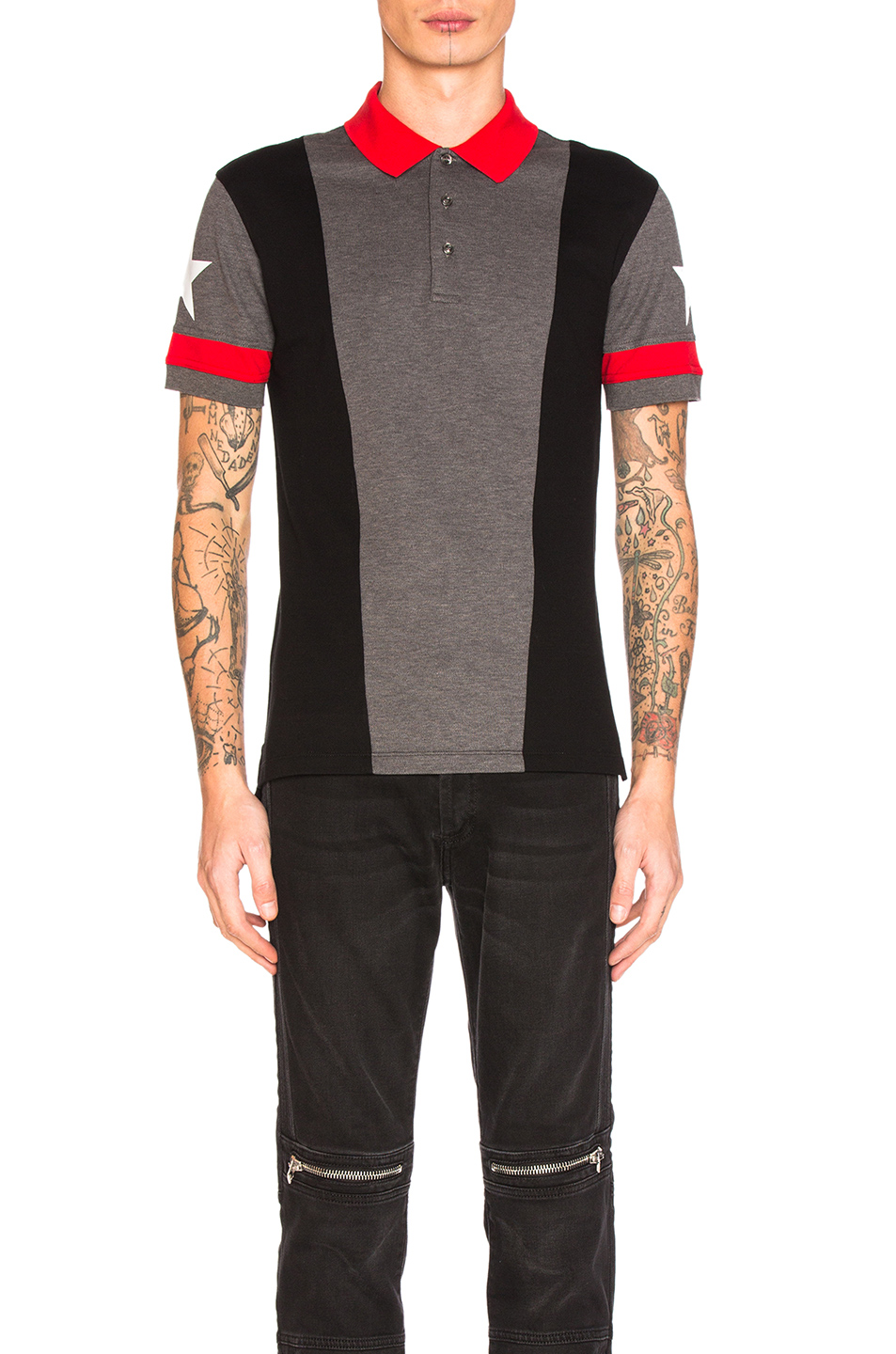 Givenchy Polo Shirt in Gray