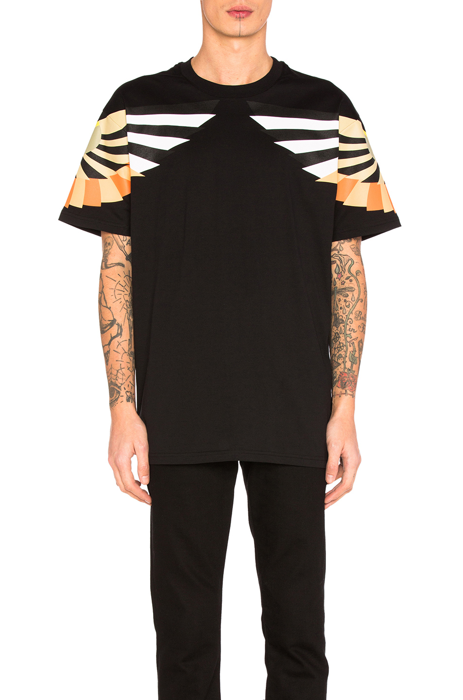 Givenchy Wings Tee in Black