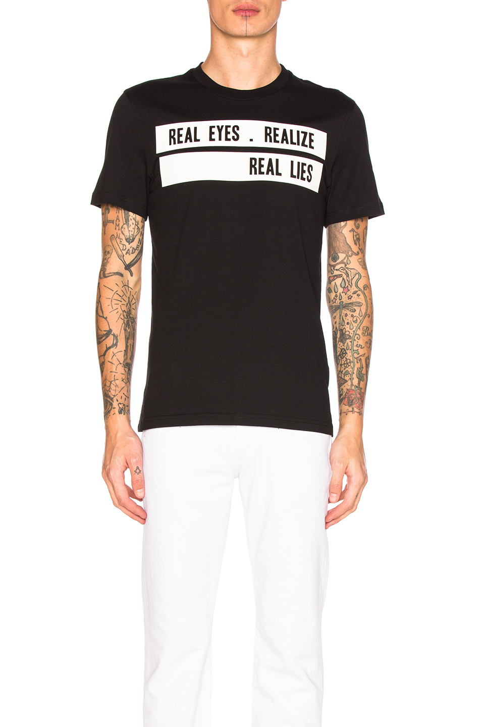 Givenchy Realize Tee in Black