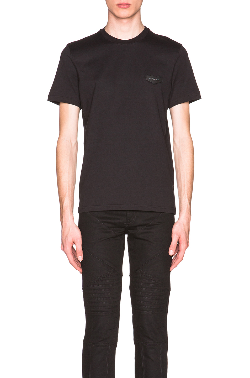 Givenchy Cuban Fit Patch Tee in Black