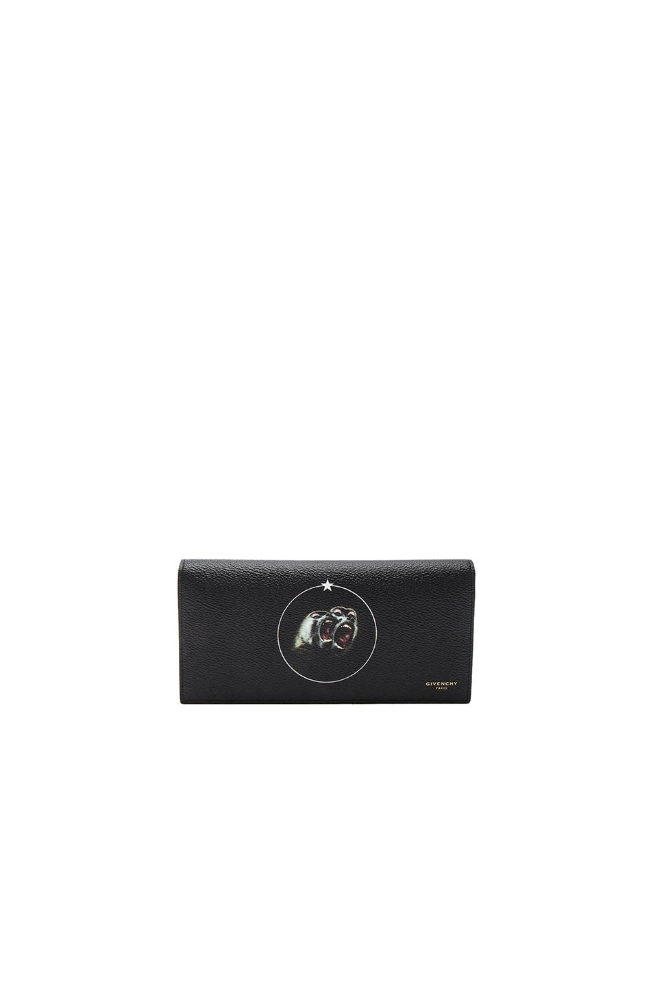 GIVENCHY Flap Wallet in Black