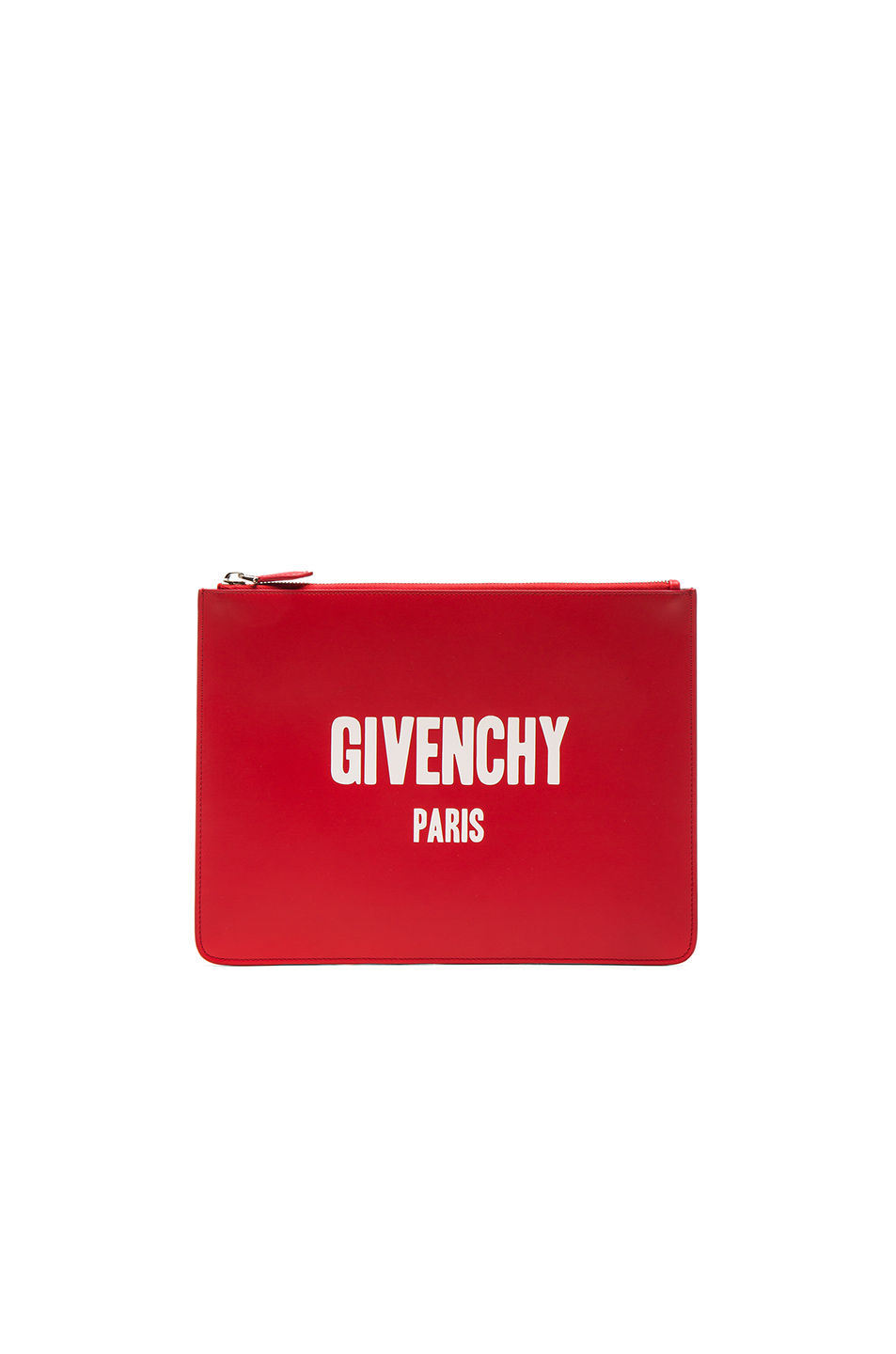 Givenchy Paris Print Pouch in Red