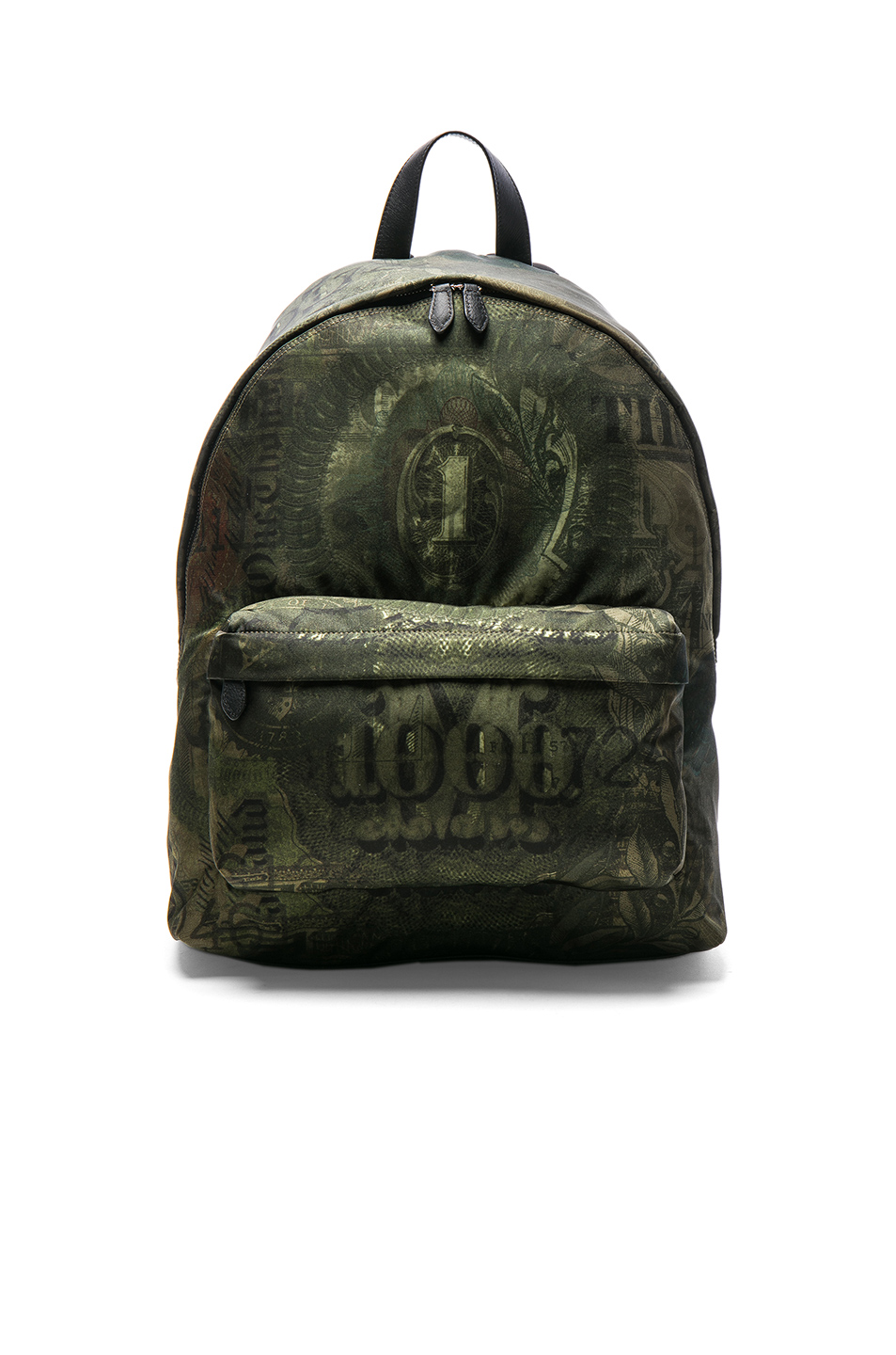 Givenchy Printed Backpack in Gree,Abstract