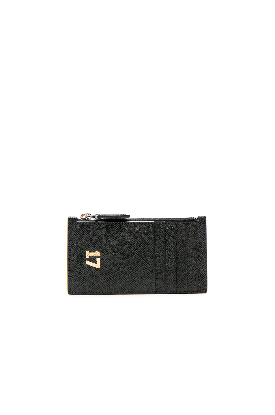 Givenchy 17 Zip Card Holder in Black
