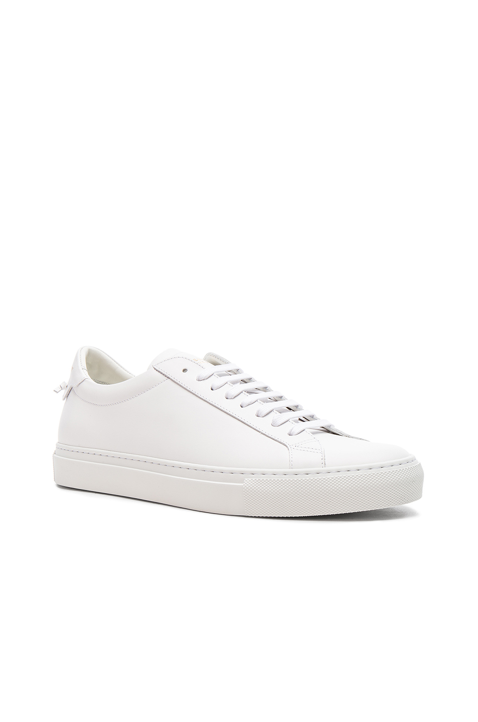 Givenchy Leather Urban Tie Knot Sneakers in White